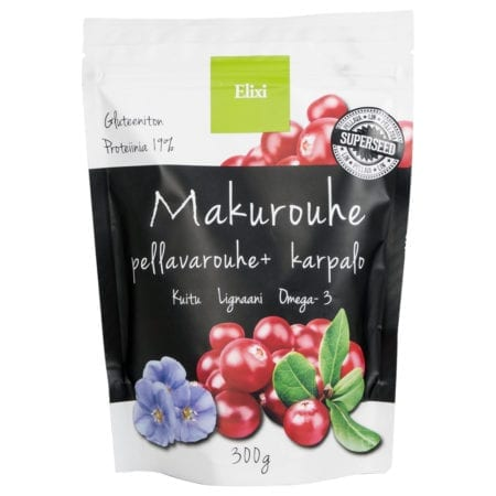 Elixi Makurouhe Pellavarouhe + Karpalo 300g