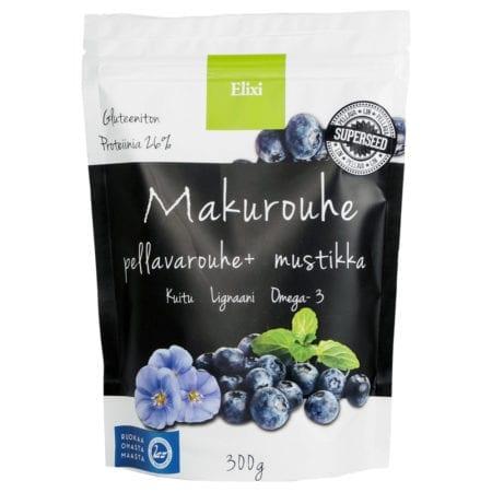 Elixi Tasty Crush - Flax Crush + Blueberry 300g