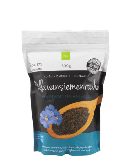 Elixi Flaxseed Crush from Finland