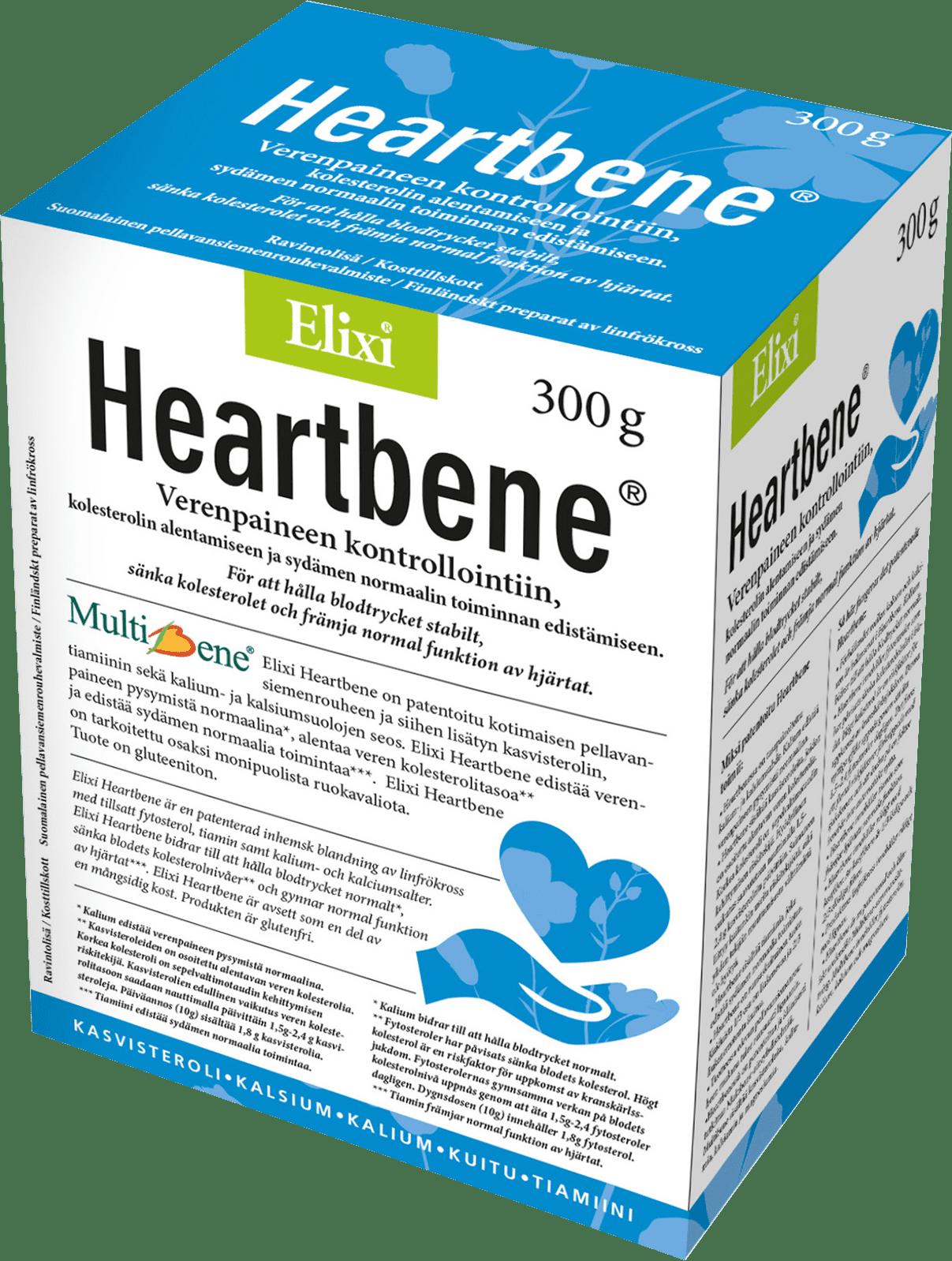 Elixi Heartbene verenpaineen kontrollointiin