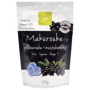 Elixi Makurouhe Pellavarouhe + Mustaherukka
