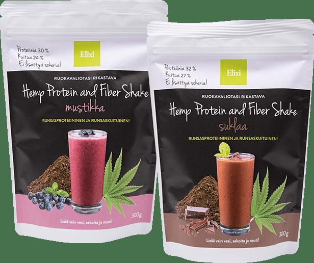 Elixi Hemp Protein & Fiber Shake maut
